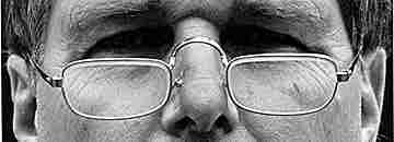 Man with reading glasses